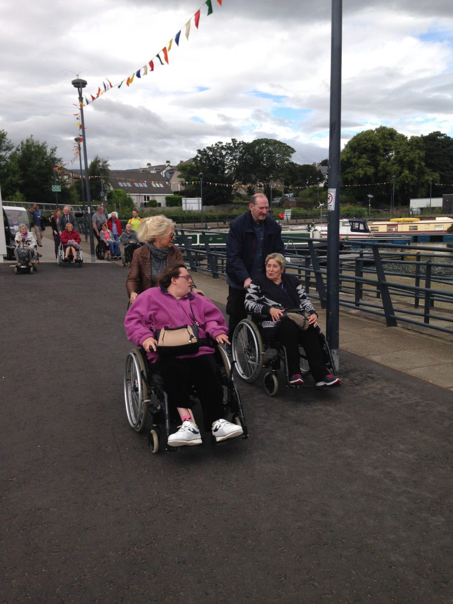 Wheelchair-Accessible Walk at the Marina
